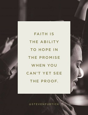 SFurtick Faith ability to hope